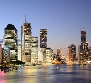 Brisbane_During_Twilight